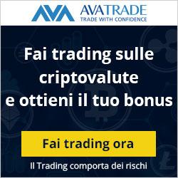 trading con le criptovalute avatrade